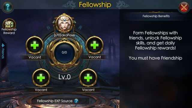legacy of discord fellowship