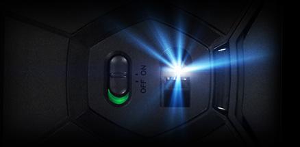 G602 close up of sensor with Delta Zero technology
