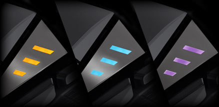 G502 has programmable RGB Lighting