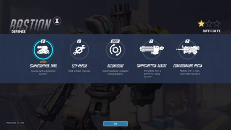 Bastion Defence Abilities Overwatch
