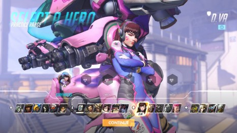 D.VA Tank Abilities Overwatch