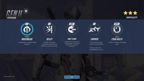 GENJI Offense Abilities Overwatch