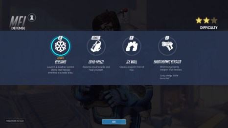 MEI Defence Abilities Overwatch