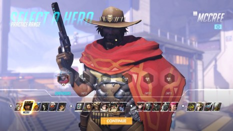 McCree Overwatch Hero