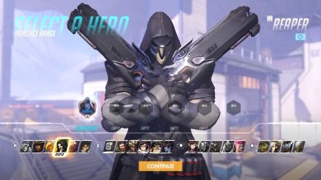 Reaper Hero Overwatch