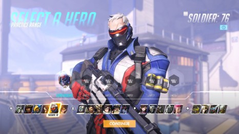 Soldier 76 Hero Overwatch