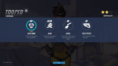 Tracer Offense Abilities Overwatch