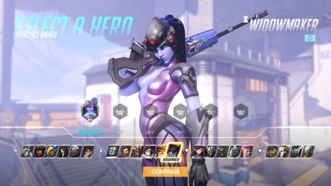 Widowmaker Overwatch Hero