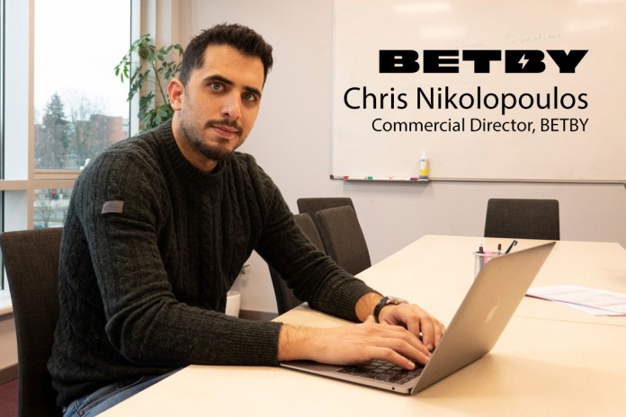 Exclusive Q&A with Chris Nikolopoulos, Commercial Director at BETBY