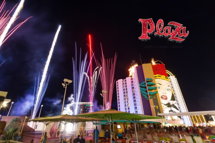 Plaza Hotel & Casino to celebrate July 4th with live fireworks show at 10 p.m.