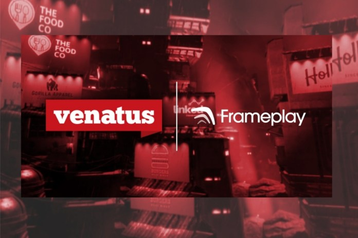 Venatus expands in-game advertising offering with Frameplay