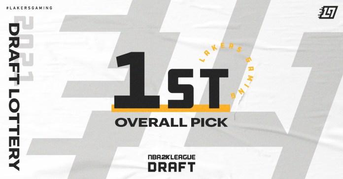 Lakers Gaming Wins Top Pick in 2021 NBA 2K League Draft