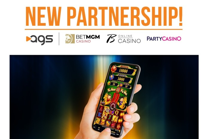 AGS Enters into Partnership with BetMGM
