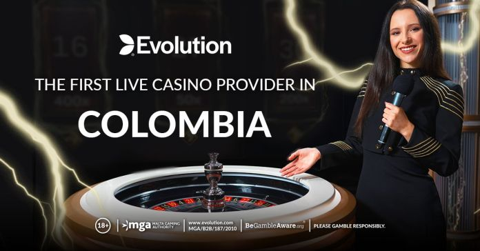 Evolution enters Colombian market as the first Live Casino provider