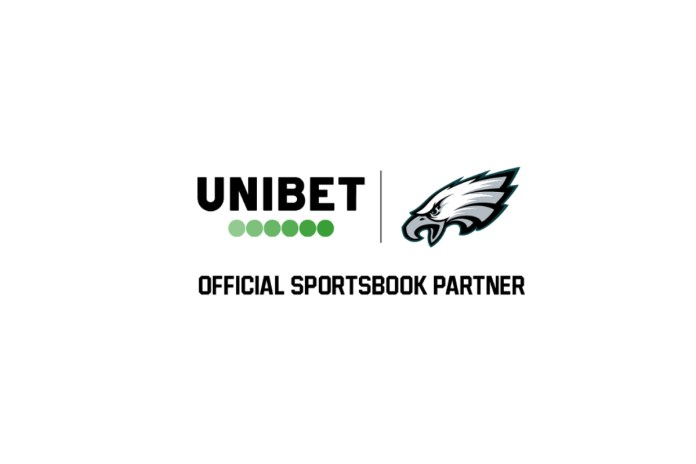 Unibet adds Official Sportsbook Partner designation to existing partnership with Philadelphia Eagles