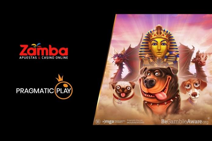 Pragmatic Play's slots now live with Colombian operator Zamba