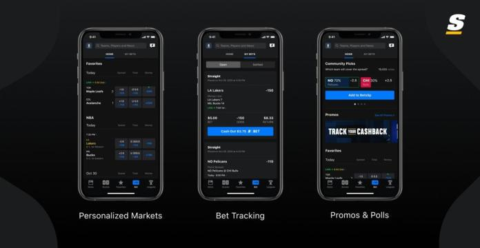 theScore Introduces Bet Section