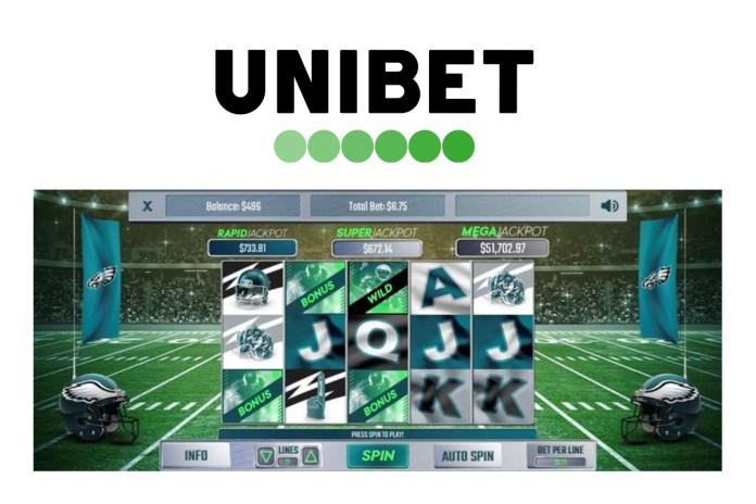 Kindred Group - Unibet launches Eagles Online Slot - first ever professional sports themed slot in the US