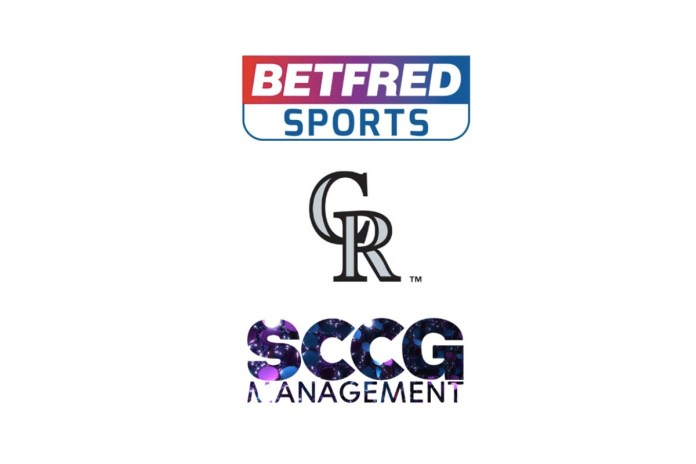 Betfred Sports, Represented by SCCG Management, Signs Multi-year Marketing Agreement with Colorado Rockies