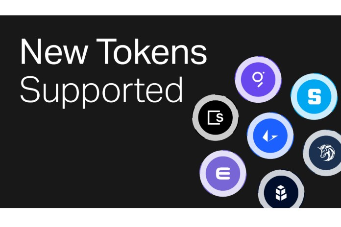 Gemini Supports New DeFi, Gaming, NFT, and Infrastructure Tokens