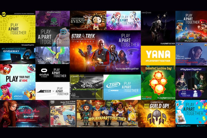 Games Industry Recommits to #PlayApartTogether Campaign