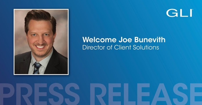 Gaming Laboratories International Appoints Joe Bunevith as Director of Client Solutions