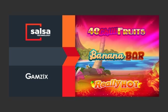 Salsa Technology welcomes Gamzix to aggregator platform