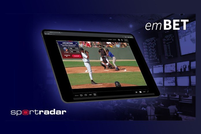 """Sportradar Launches its New Product """"emBET"""""""