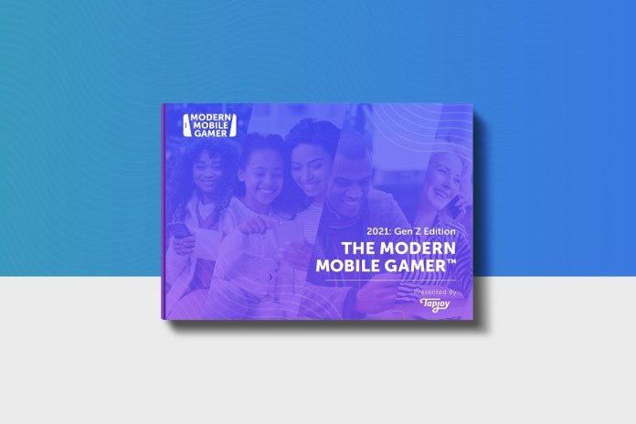 The Mobile-First Generation: Gen Z Is Heavily Into Mobile Gaming, Shopping, and Social Media, Finds Tapjoy's New Modern Mobile Gamer Report™