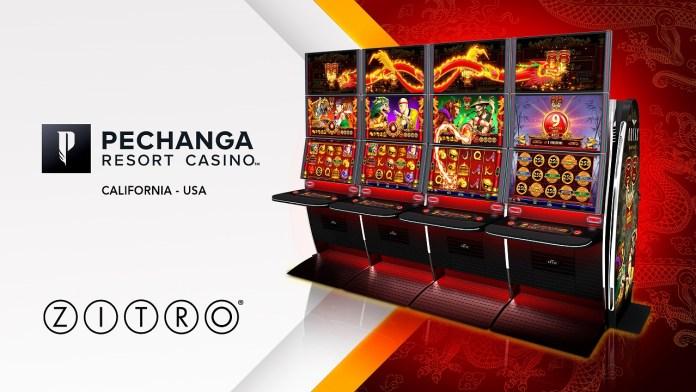 """Pechanga Resort Casino To Be First In California To Install Zitro's Award-Winning """"88 Link"""" 5 Level Progressive Video Slot"""