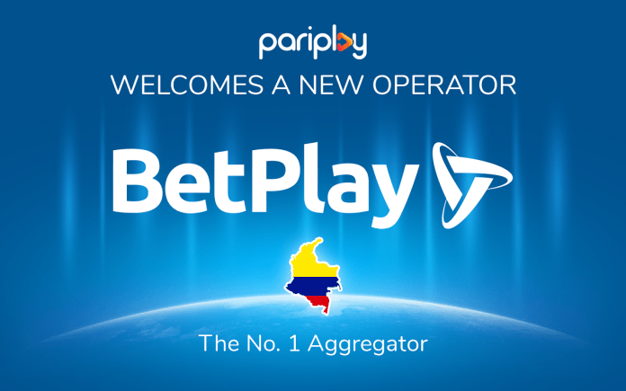 Pariplay takes content live with BetPlay in Colombia