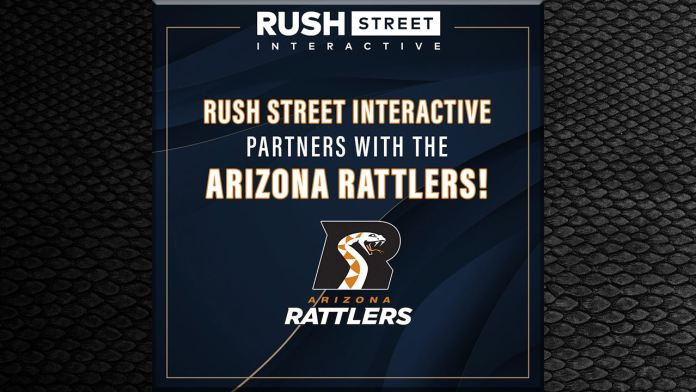 Rush Street Interactive to Bring BetRivers Online Sportsbook to Arizona With the Arizona Rattlers