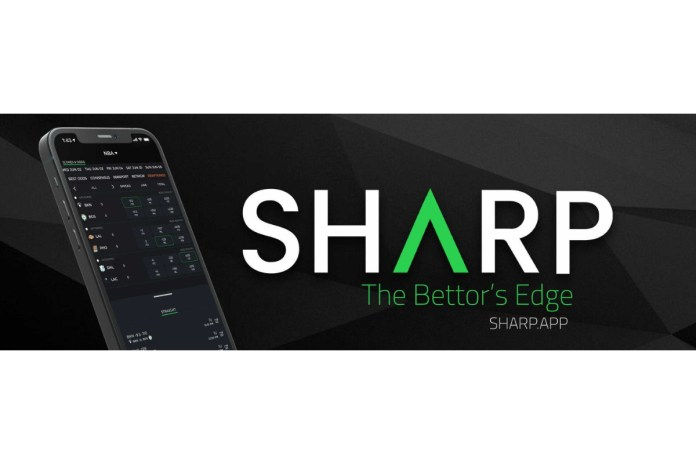 Sharp, A New Sports Betting App Focused on Empowering Bettors Through Advanced Education, Officially Launches