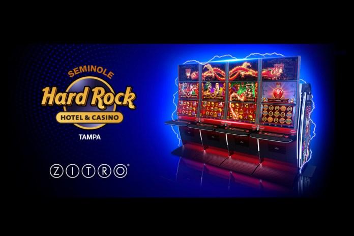ZITRO USA DEBUTS 88 LINK PROGRESSIVE GAMES AT SEMINOLE HARD ROCK HOTEL & CASINO TAMPA