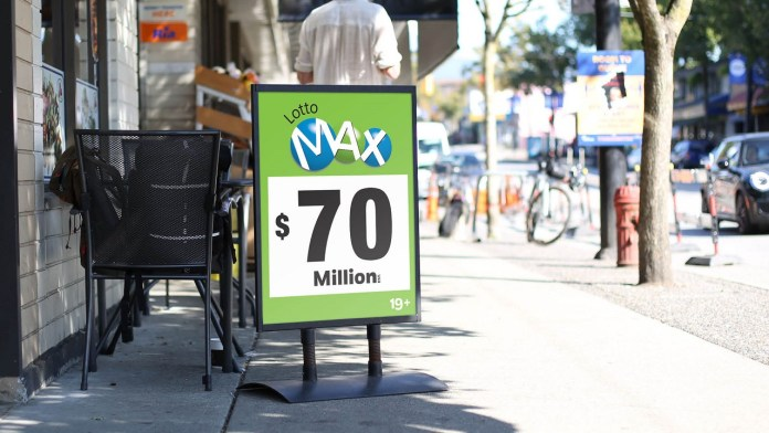 Jackpot! Burnaby Lotto Max Ticket Wins Largest Prize Ever Drawn in B.C.: $70-Million