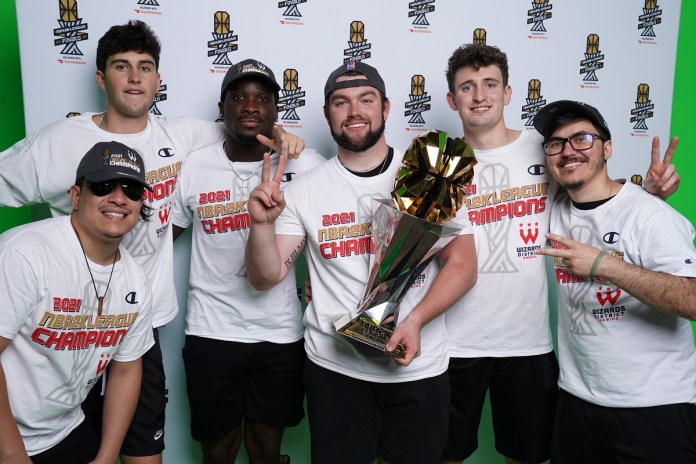 WIZARDS DISTRICT GAMING WINS SECOND CONSECUTIVE CHAMPIONSHIP IN THE 2021 NBA 2K LEAGUE FINALS DELIVERED WITH DOORDASH