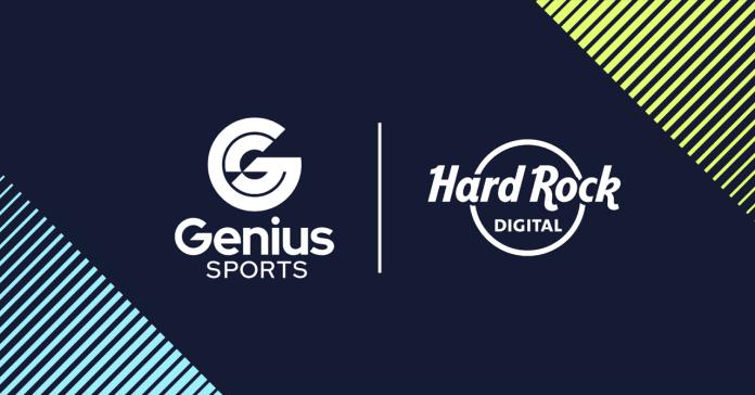 Genius Sports Enters into Partnership with Hard Rock Digital