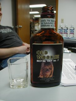 Old Wookie, smoothest spirits you'll ever find this side of Kessel