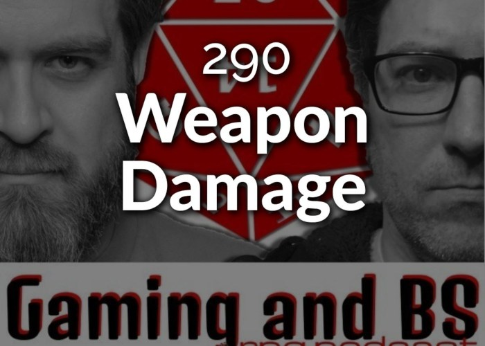 weapon damange in rpgs