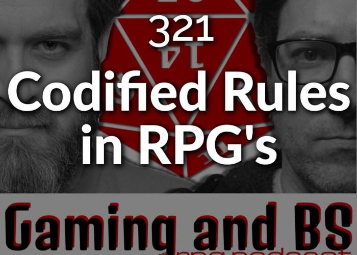 codified rpg rules album art