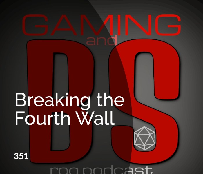 breaking fourth wall rpgs album art