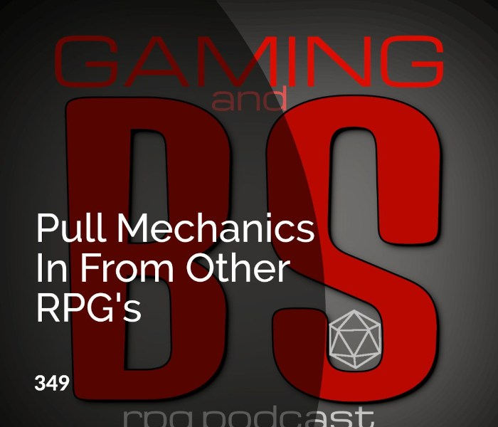 pull mechanics from other rpgs album art