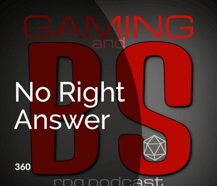 no right answer album art