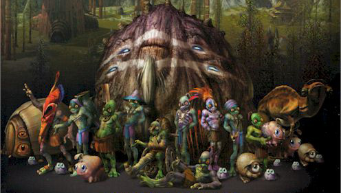 Oddworld Hand Of Odd Announced For Tablets Munchs Oddysee HD Revamp Also Hitting PSN