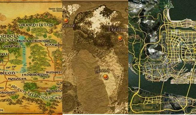 Ten Largest Worlds In Video Games Video