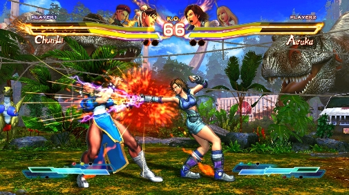 Hackers Using Locked On Disc Street Fighter X Tekken DLC