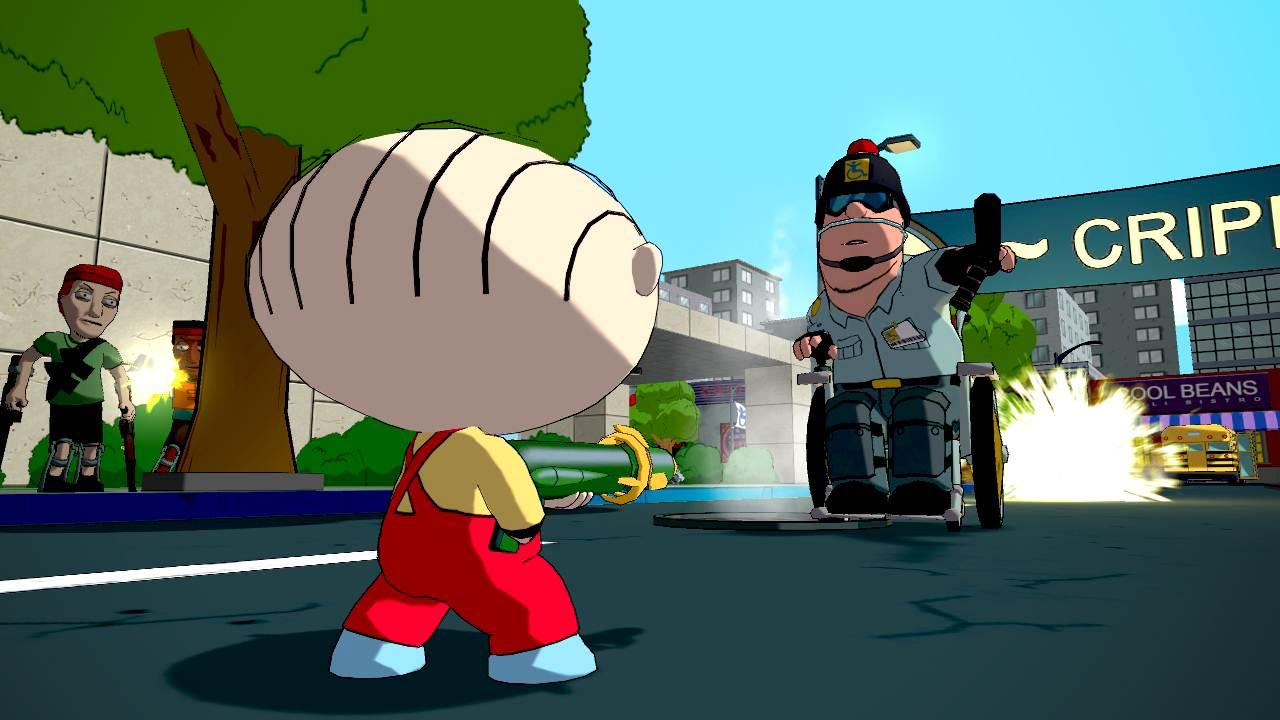 Family Guy: Back to the Multiverse – Some gamescom screenshots « GamingBolt.com: Video Game News. Reviews. Previews and Blog