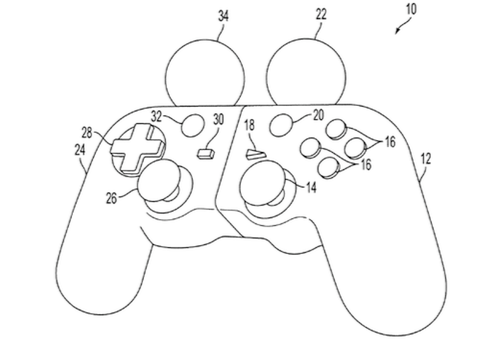 Sony patents possible PS4 controller; PS Move-DualShock hybrid
