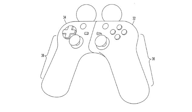 Sony patents possible PS4 controller; PS Move-DualShock