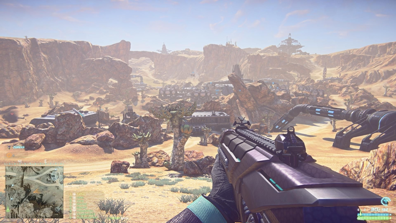 PlanetSide 2 PS4 Graphics Equivalent To Ultra On PC